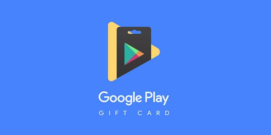 آموزش شارژ گوگل پلی استور ، نحوه خرید گیفت کارت گوگل پلی